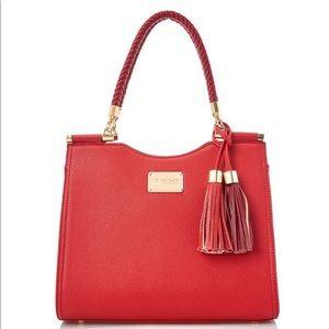 Bebe Los Angeles red shoulder bag
